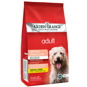PROMO Ардэн Грэньдж Корм сухой для взрослых собак, с курицей и рисом (14 кг.)