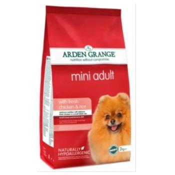 Ардэн Грэньдж Корм сухой для взрослых собак мелких пород, с курицей и рисом.