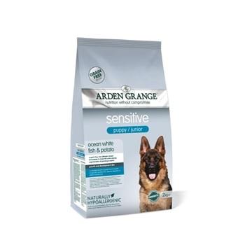 Арден Грэньдж Корм сухой для щенков и молодых собак, с деликатным желудком и/или чувствительной кожей