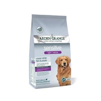 Арден Грэньдж Корм сухой диетический / для собак преклонного возраста, с деликатным желудком и/или чувствительной кожей
