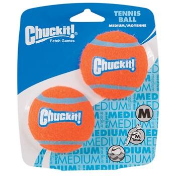 Игрушка д/собак - Теннисный мяч, резина, 2 шт.