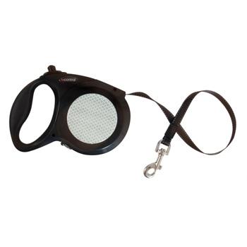 Поводок-рулетка для мелких собак, цвет черный