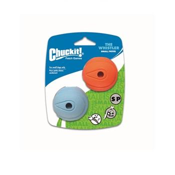 Игрушка д/собак - Мяч, свистящий, резина, 2 шт.