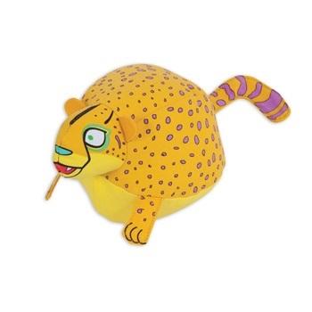 Игрушка д/собак - Гепард, мягкая, особо прочная, с пищалкой