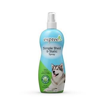 Спрей-антистатик для ухода за шерстью в период линьки, для собак и кошек
