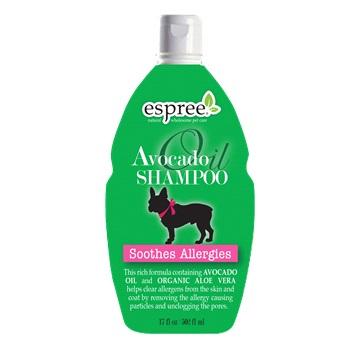 Шампунь для восстановления шерсти и кожи с маслом авокадо для собак,