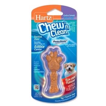 Игрушка для собак - Косточка для очищения зубов с лакомством, маленькая,
