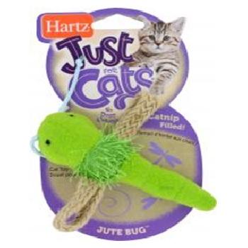 Игрушка д/кошек - стрекоза, мягкая