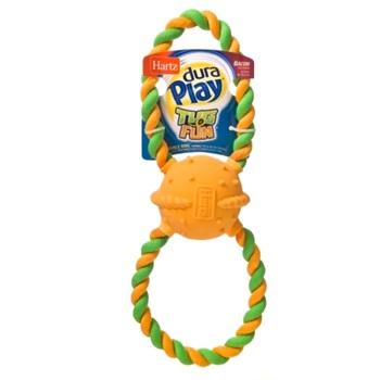 Игрушка д/собак - Двойное кольцо, латекс с наполнителем, большая,