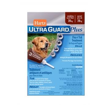 Капли Хартц Ультра Гард инсектоакарицидные для собак и щенков, более 28 кг, 5,9 мл.