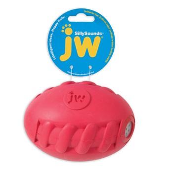 Игрушка д/собак - Футбольный мяч с пищалкой, каучук, средняя.