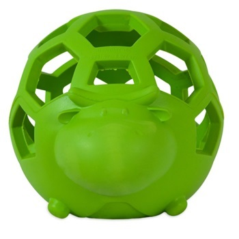 Игрушка д/собак - Корова, сетчатая, резина, маленькая
