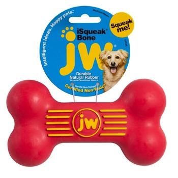 Игрушка для собак - косточка с пищалкой, каучук
