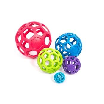Игрушка для собак - Мяч сетчатый (каучук), очень маленький