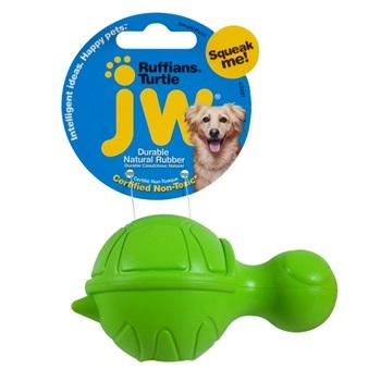 Игрушка для собак - черепашка с пищалкой, каучук